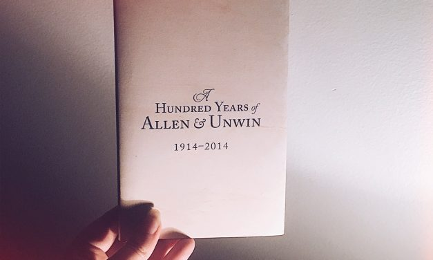 Starting A New Chapter With Allen & Unwin